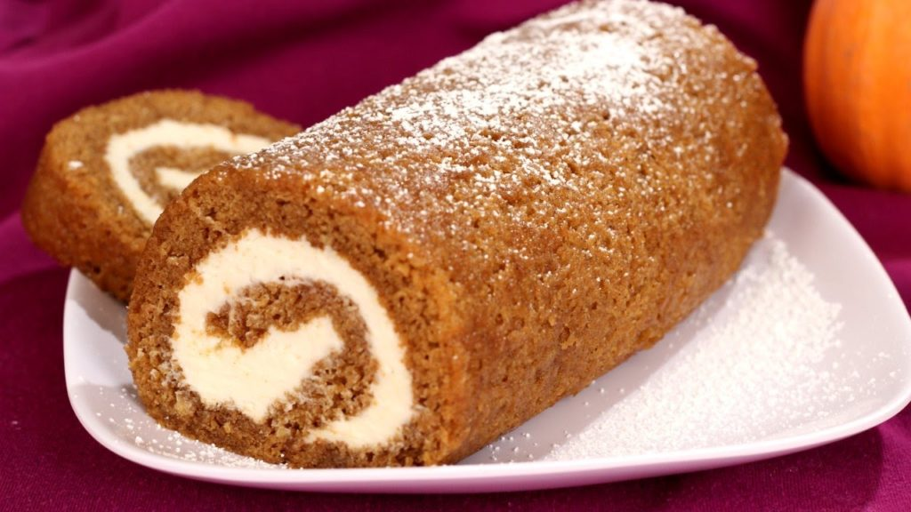 Pumpkin with Cream Cheese Filling